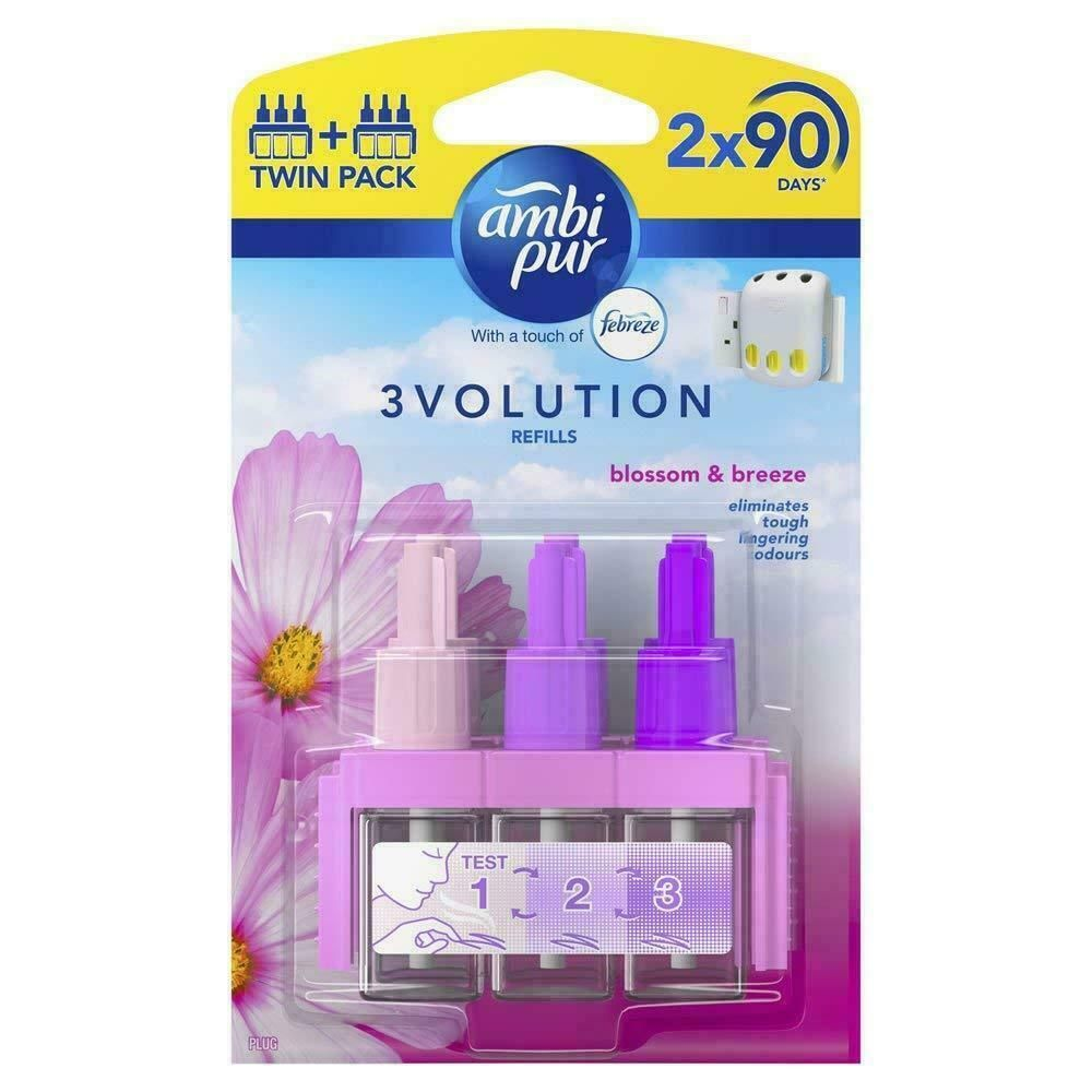 Ambi pur 3volution Refills Cotton Fresh Twin Pack x2 Ambi pur 3volution Refills