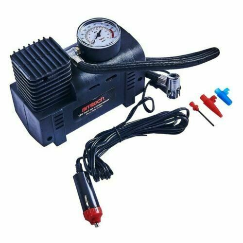 Amtech 12V Mini Air Compressor Tyre Inflator Portable Air Pump Compressor 250Psi