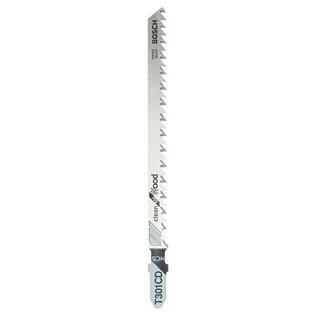 Bosch T-shank Jigsaw blades T101BR 100mm, Pack of 2