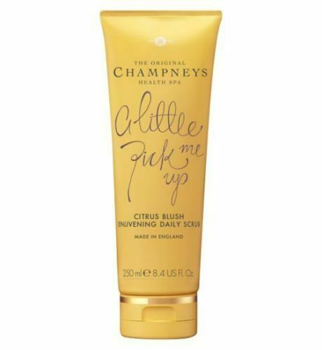 Champneys Daily Scrub Citrus Blush Enlivening 1x250ml Little Pick Me Up NEW