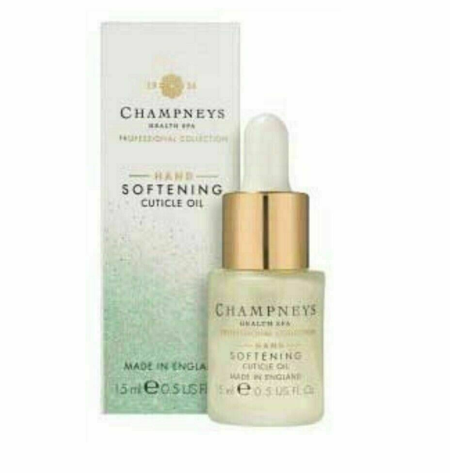 Champneys Hand Softening Cuticle Oil 15ml New (30ml Total)