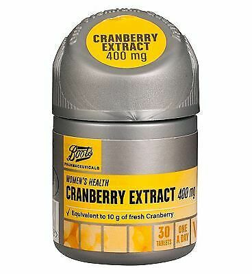 Cranberry Extract 400mg - 30 tablets