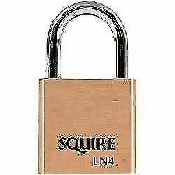 Henry Squire Lion Premium Solid Brass 5 pin Double Locking Padlock