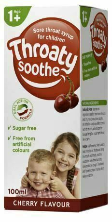 Kira Throaty Sooth syrup for children