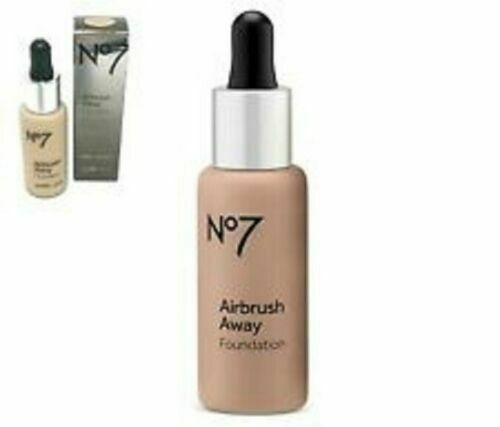 No7 AIRBRUSH AWAY FOUNDATION 30ml SHADE : COOL IVORY