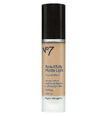 No7 Matte Light Foundation Deeply Beige from NO7